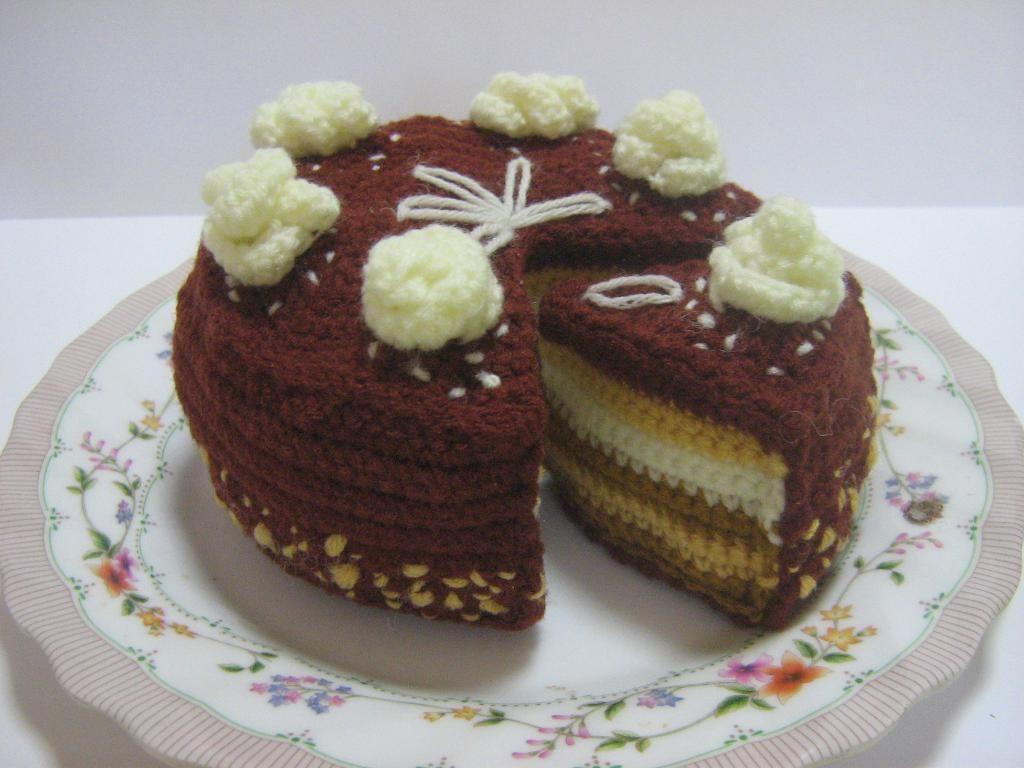 Butter Cream Choc Cake Crochet Pattern | Pinterest