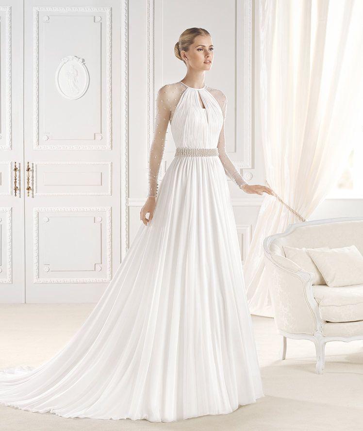 ELVIA wedding dress from the Fashion 2015 - La Sposa collection   La Sposa