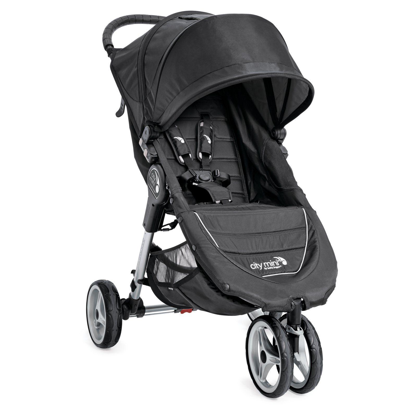 Baby Jogger City Mini 3W Single Stroller Black/Gray