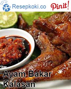 Resep Ayam Bakar Kalasan Food Pinterest