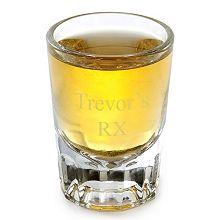 Engraved Distinction Shot Glass