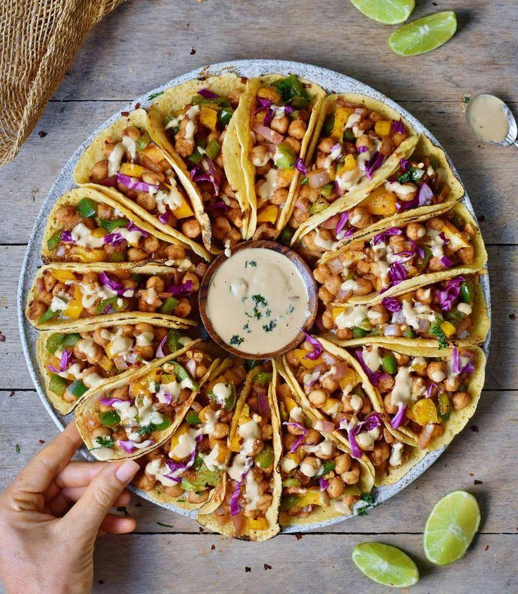 Taco-Fest zum Abendessen. Das Rezept ist vegan, glutenfrei, getreidefrei und lecker. - Vegan Taco-Fest zum Abendessen. Das Rezept ist vegan, glutenfrei, getreidefrei und lecker.   - Vegan -