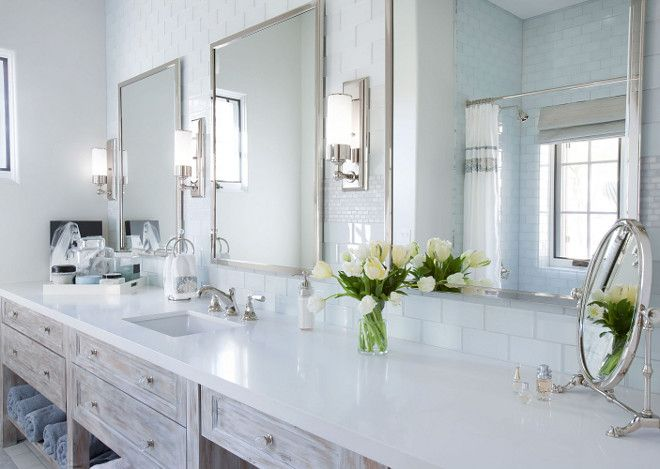Large Bathroom Vanity With One Sink And Plenty Of Counter Space