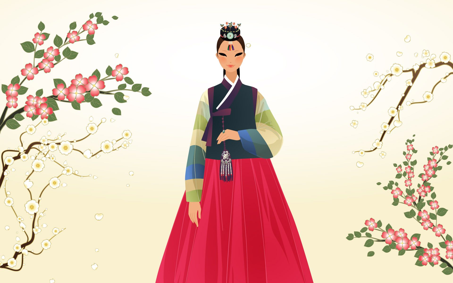 Wallpapers korean index of images art traditional for New fashion wallpaper