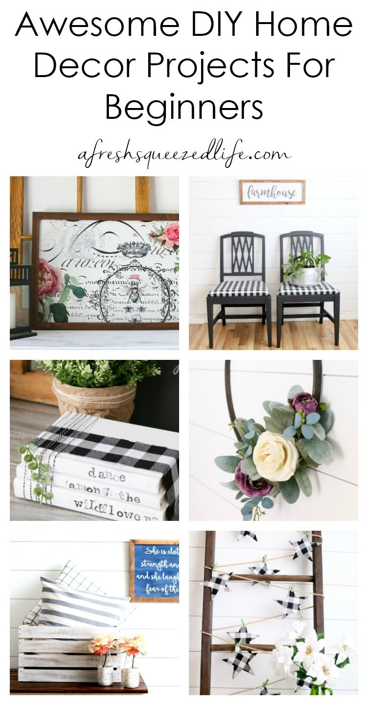 Diy Home Decor Projects A Fresh Squeezed Life Diy Home Decor Diy Home Decor Projects Decor Project