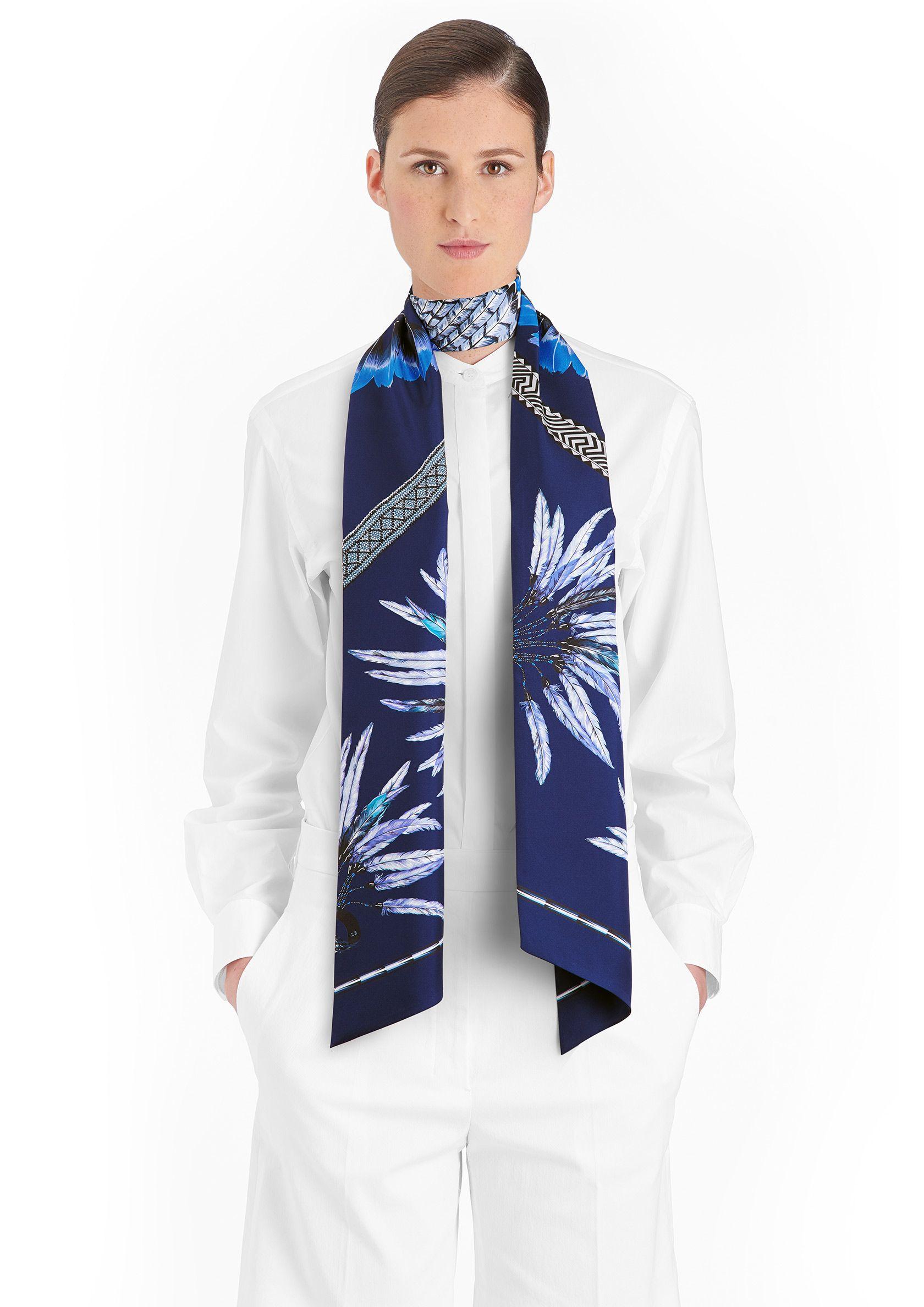 大款Twilly长丝巾 Hermès   Brazil