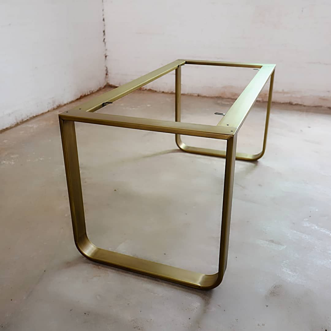 Pin By Arvind Srinivas On Home In 2020 Brass Dining Table Metal