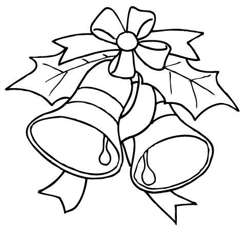 Dibujo campana navidad navidad tarjetas pinterest - Imagenes navidenas para colorear ...