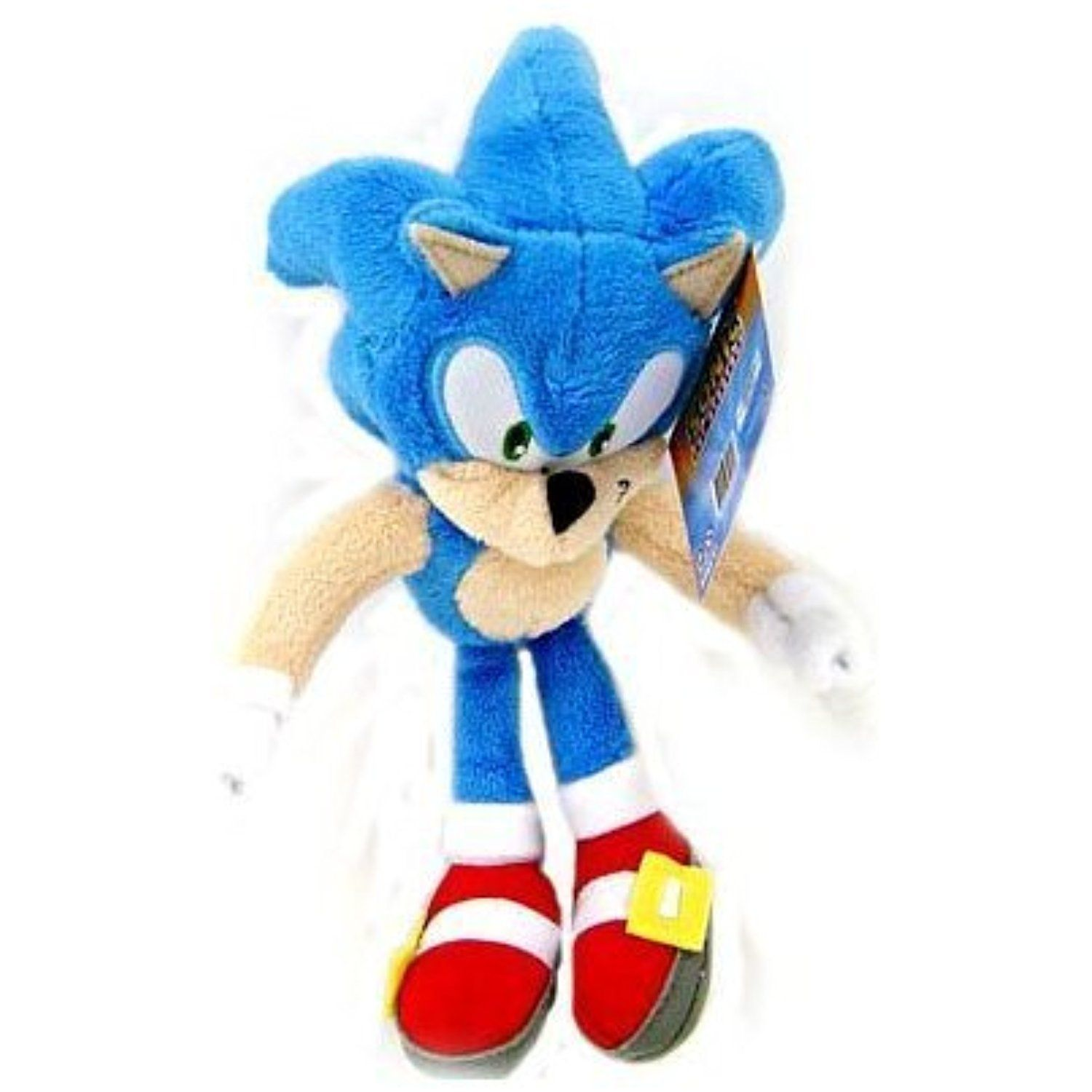 Sonic The Hedgehog Jazwares 6 Inch Plush Figure Sonic To View