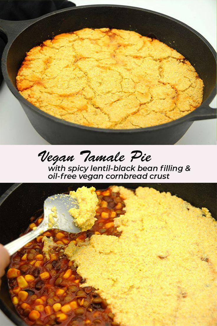 Vegan Tamale Pie Vegan Pies Recipes Recipes Tamale Pie