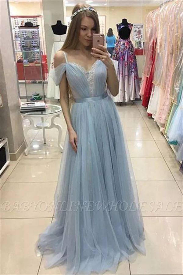 Blaues Abendkleid Lang Gunstig Elegante Abendmode Festliche Kleider Babyonli Abendkleid Abendmode Ba Blaues Abendkleid Abendkleid Festliche Kleider