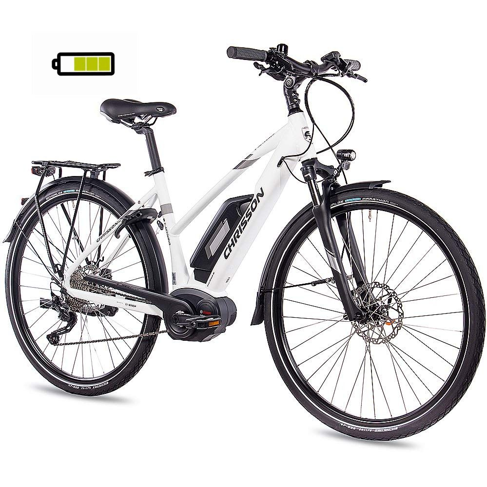 Chrisson 28 Zoll Damen Trekking Und City E Bike E Actourus