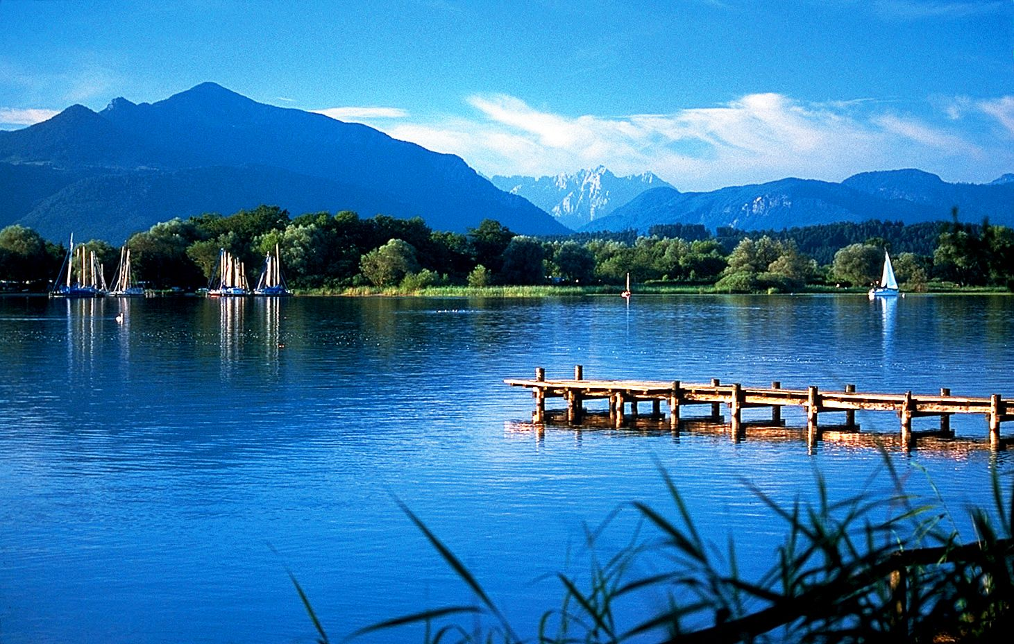 Chiemsee Bavaria Germany Attractions In Germany Travel Around The World Lights Tour