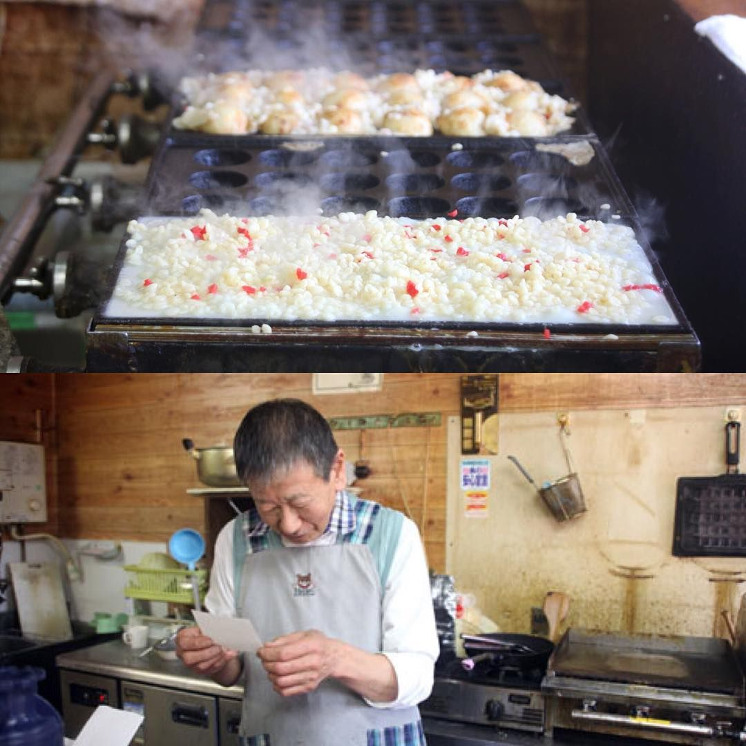 前チャッピー たこ焼き チャッピー 大阪市平野区平野西 ゲツモク日記 建築家 守谷昌紀 アトリエm Octopus Osaka Architect Architecture Design Simple Minimal Food Breakfast Cereal