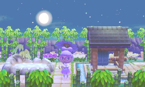love this Zen garden! | Animal crossing, Animal crossing ...
