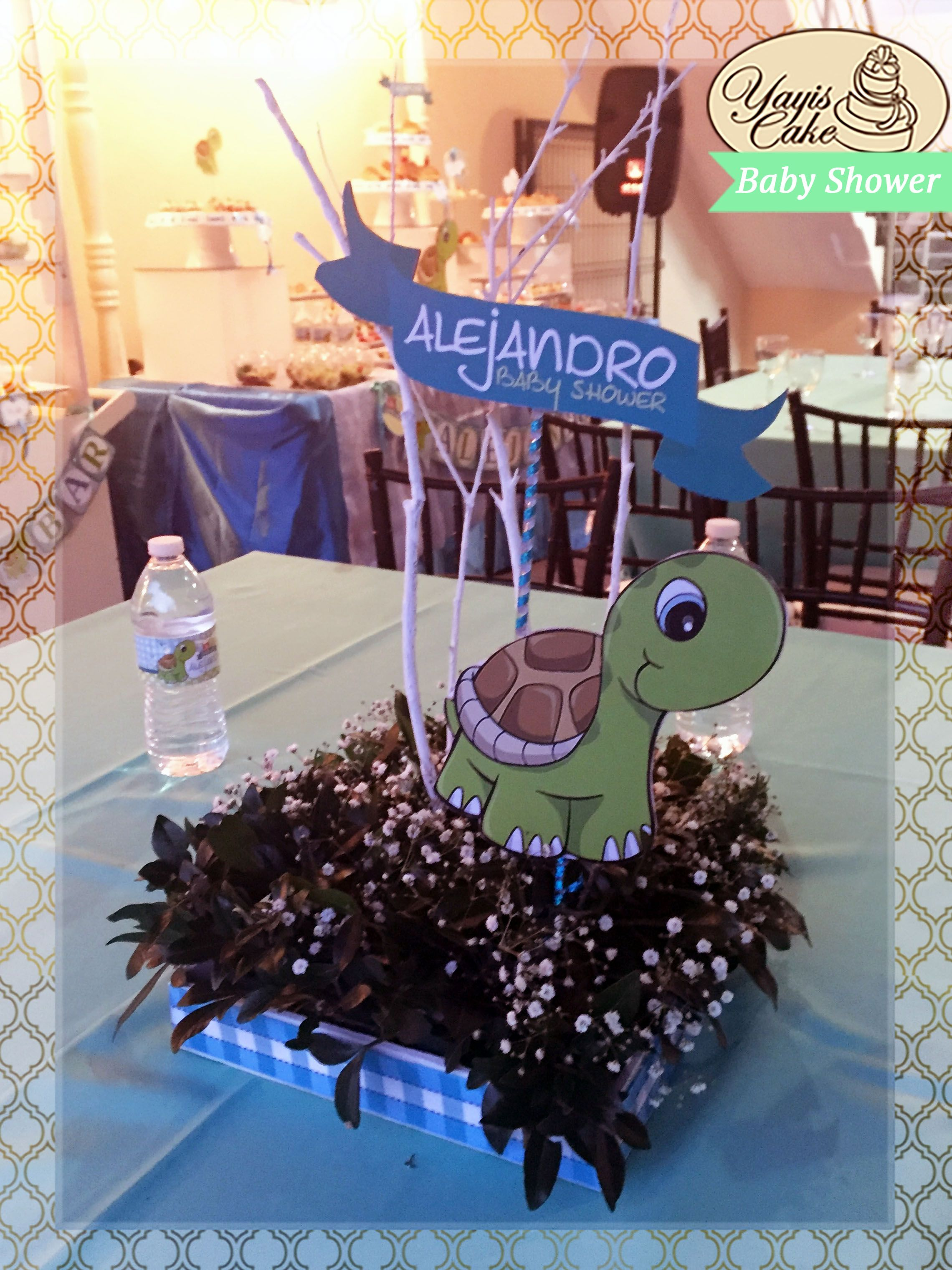 Cocalo Reef Turtle Baby Shower