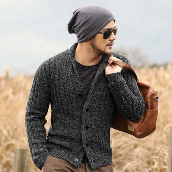 Buy Designer cardigans men sweaters 2018 knitwear button