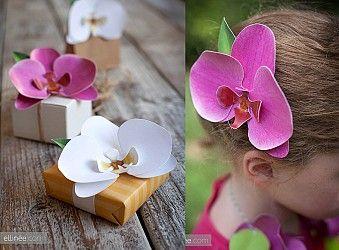 Diy Orquídeas De Papel | Descargables Gratis Para Imprimir: Paper Toys,  Diseño, Origami