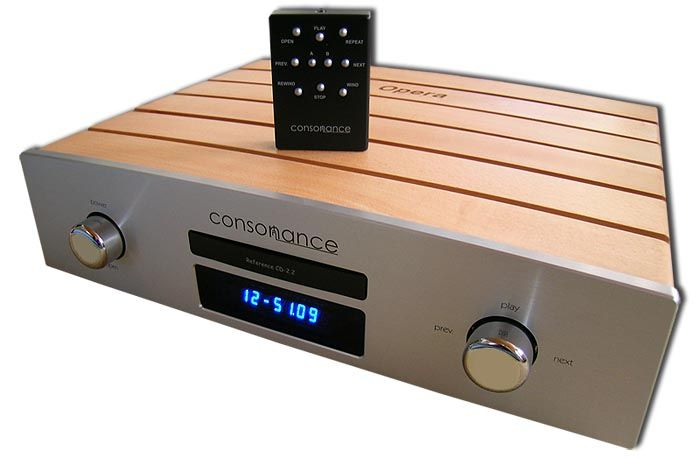 6moons audio reviews: Consonance by Opera Audio Reference CD