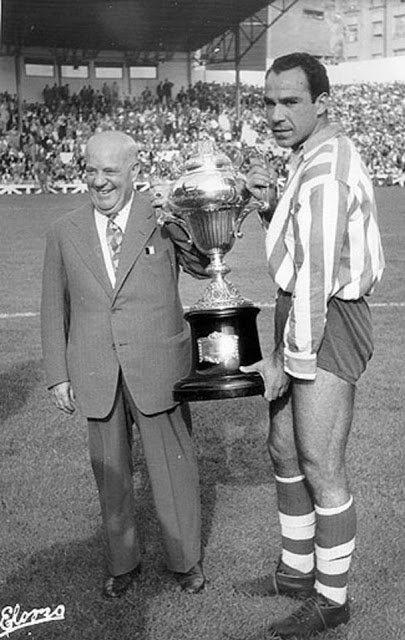 Telmo Zarra Futbol Atleta Bilbao