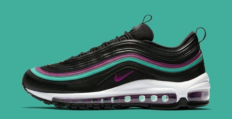 7b9088001dd Buy Nike WMNS Air Max 97 Black Bright Grape Sneakers + Review ...