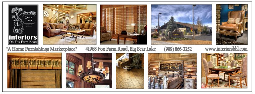 Visit us when you're in Big Bear Lake!