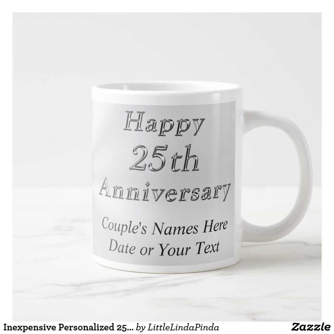 Inexpensive personalized 25th anniversary gifts giant