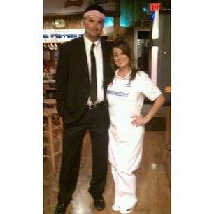 Halloween costumes · Mayhem and Flo ...  sc 1 st  Pinterest & Mayhem and Flo from the Allstate and Progressive insurance ...