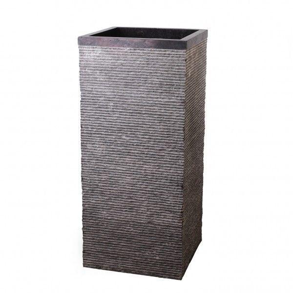 Marmor Stand Waschbecken gehämmert Waschtisch Säule Bad schwarz 40 - k chen g nstig kaufen ebay