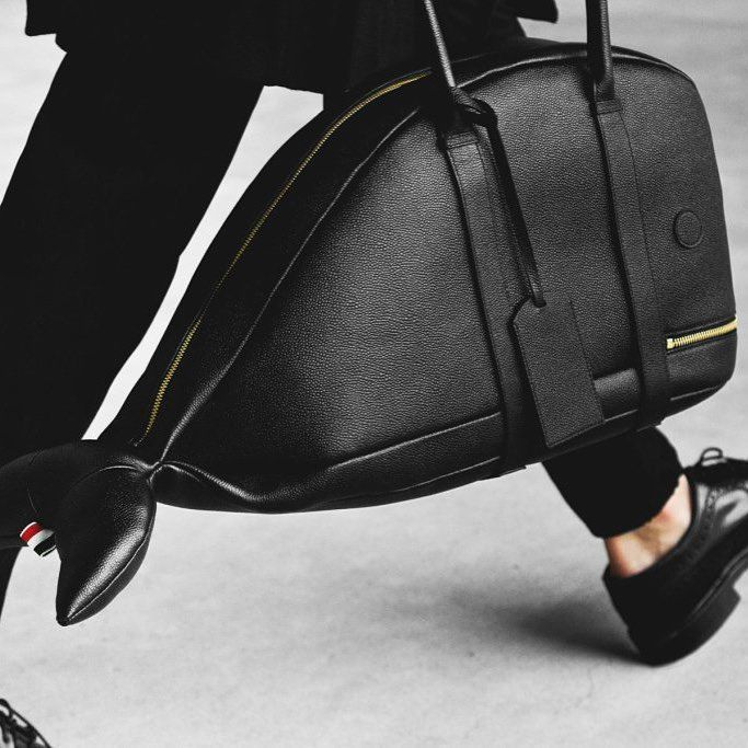 Thom Browne AW15 Accessories Collection #whaleshapedbag #whale