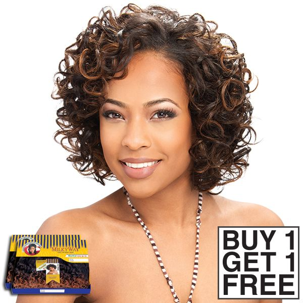 Milky Way 100 Human Hair Weave Trina Curl 3 Pcs Buy 1 Get