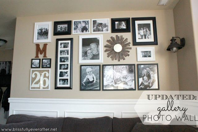 Family Photo Wall Hanging Ideas