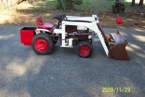 Brian's Bolens garden tractor loader project_1   Garden