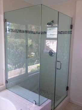 frameless glass doors beach style bath and spa accessories los angeles by