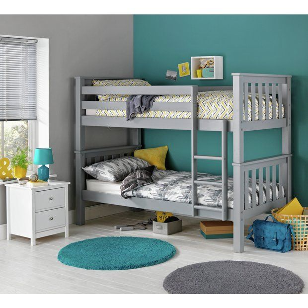 Buy Collection Kids Heavy Duty Bunk Bed With 2 Mattresses