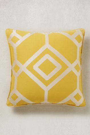 buy lattice geometric jacquard cushion from the next uk online shop rh pinterest com