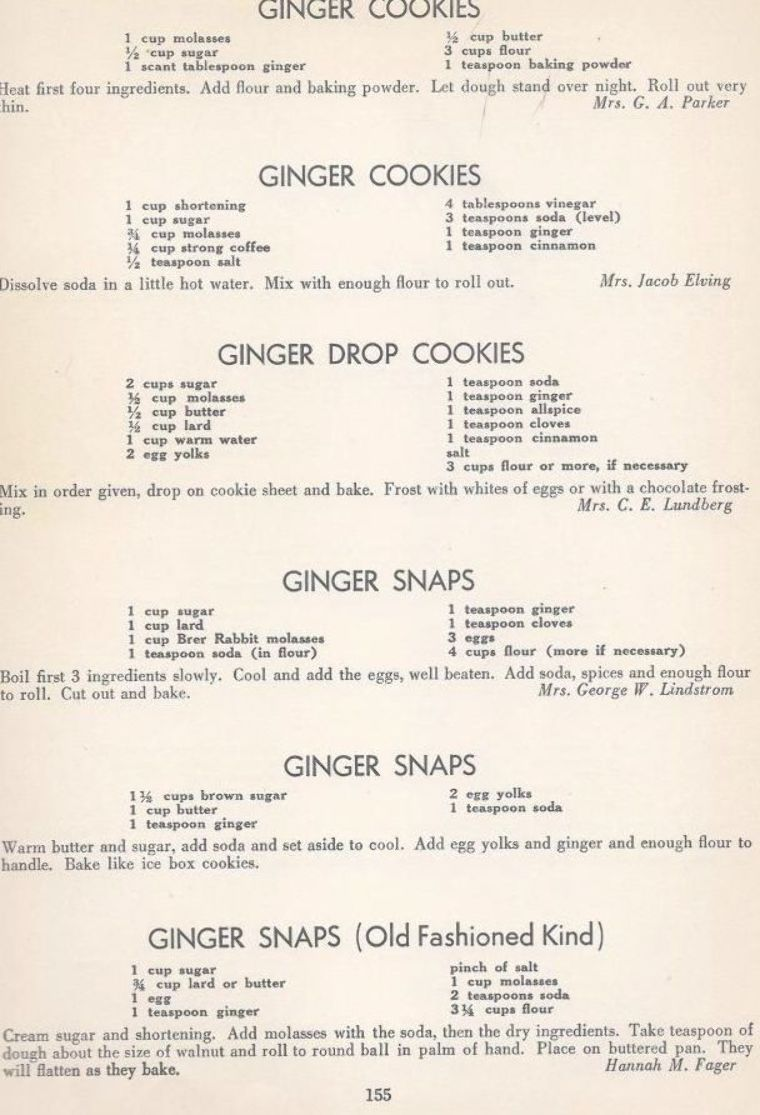 Vintage Cookies Recipes From 1940 Vintage Recipes Vintage Cookies Old Recipes