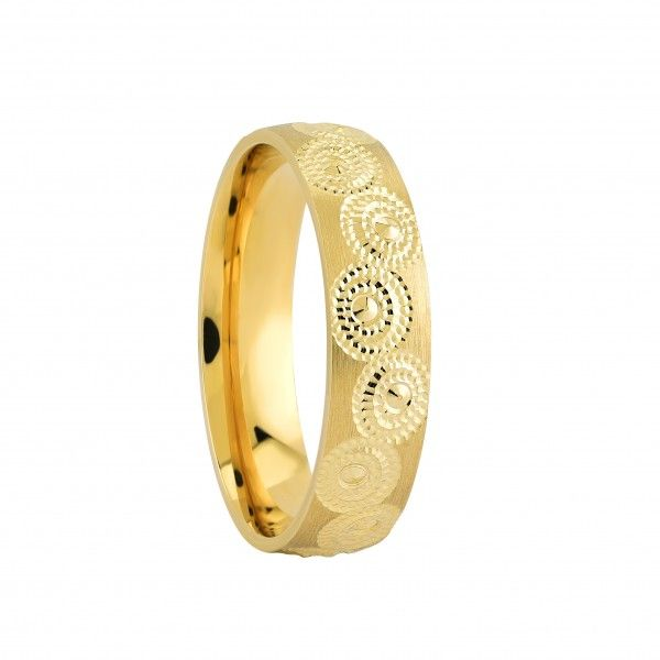 Womens Wedding Ring In 22K Gold