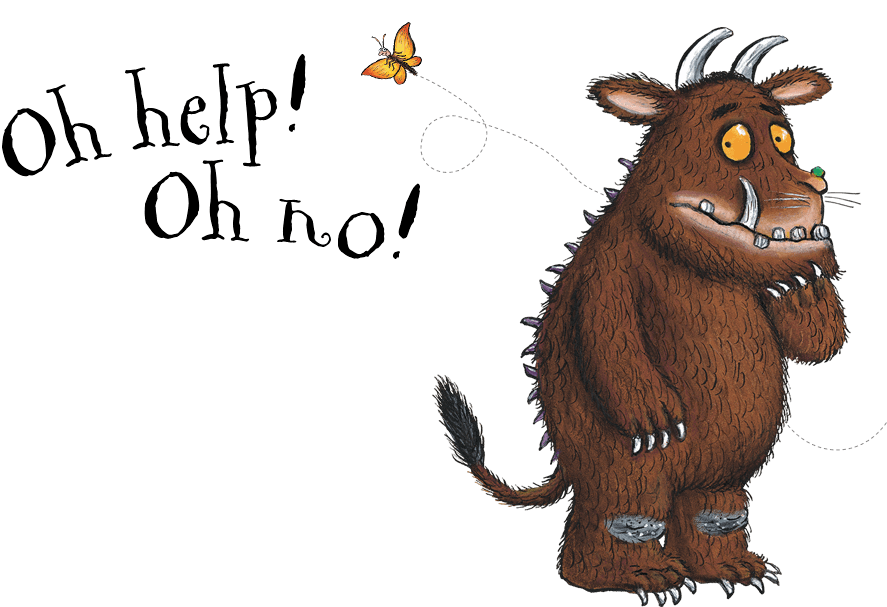 The Gruffalo - 404 | Cuento Grúfalo | Pinterest