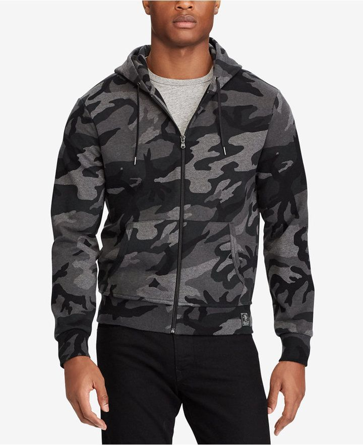 Bigamp; Double Knit Tall Camo Polo Hoodie Ralph Men's Lauren rxdWBeCo