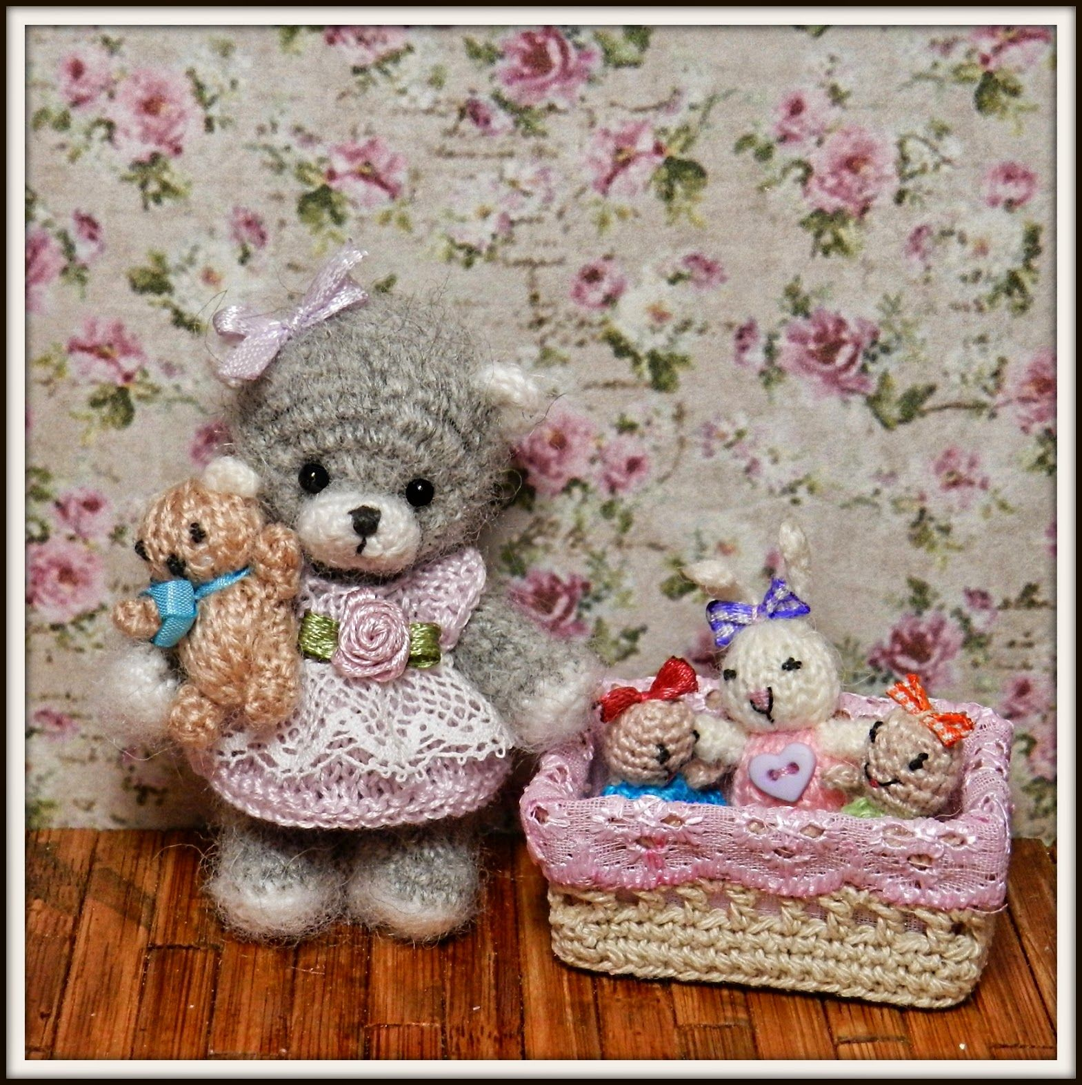 1000 images about crochet thread mini amp micro on pinterest - Dolls