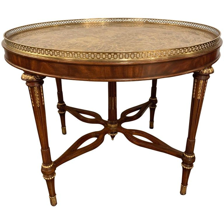 Louis Xvi Style Maitland Smith Center Card Or Small Dining Table