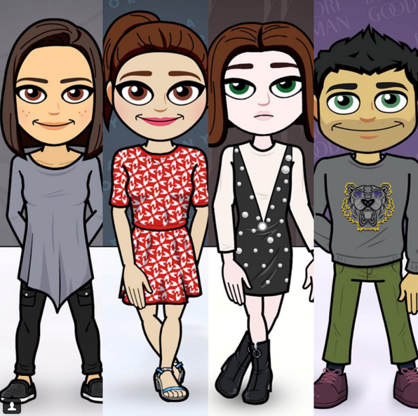Bitmoji goes high fashion  Your avatar can now wear Tanya Taylor ... 8ef00b397
