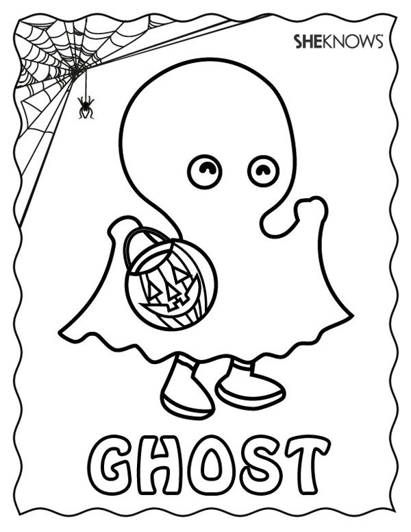 These Halloween Coloring Pages Are The Perfect Antidote To Fall Boredom Party