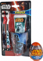 Star Wars Dental Gift Set - 2 Toothbrush, Toothpaste, Beaker And Surprise Egg
