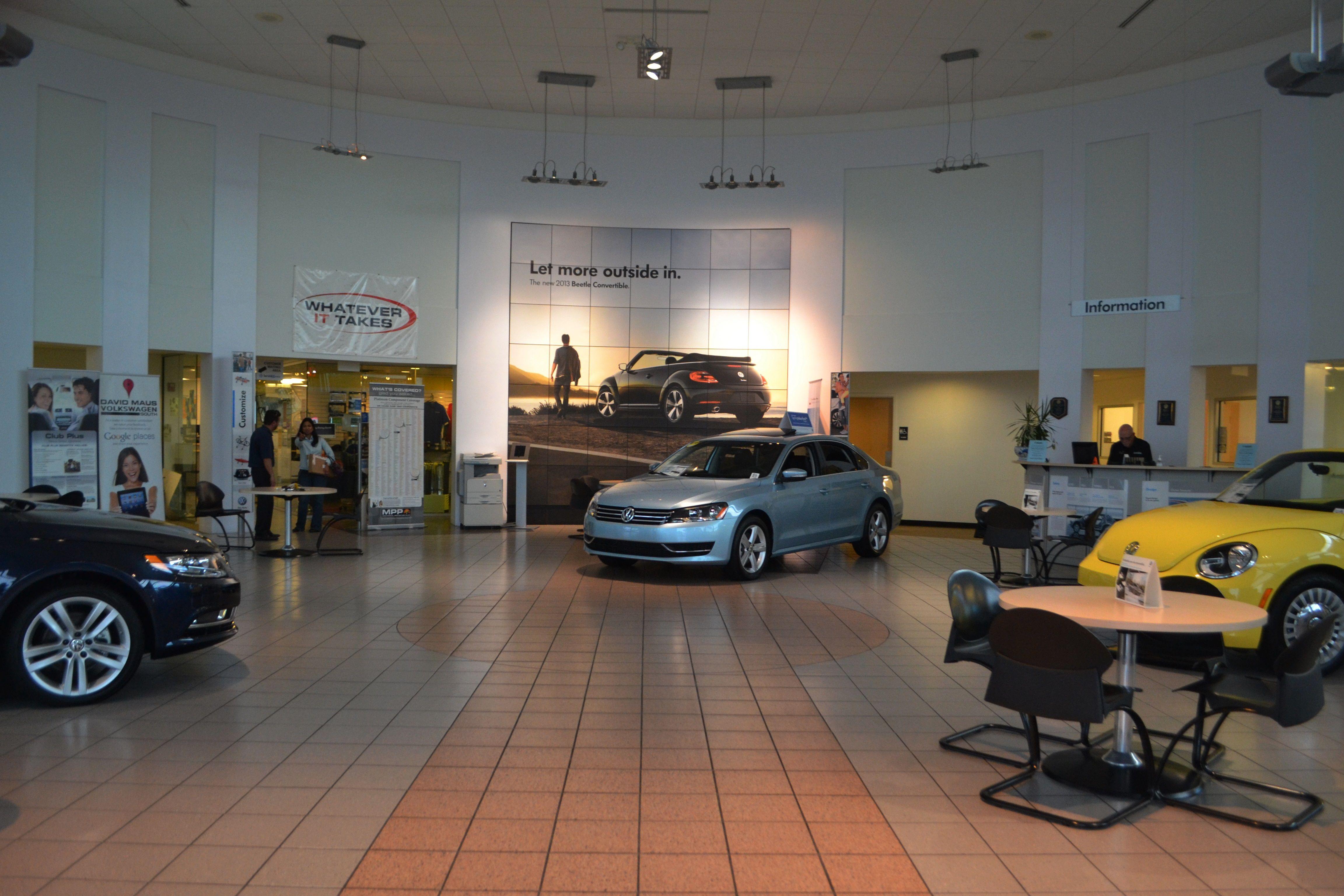 The Davidmausvwsouth Showroom Volkswagen Volkswagen Car Cars For Sale