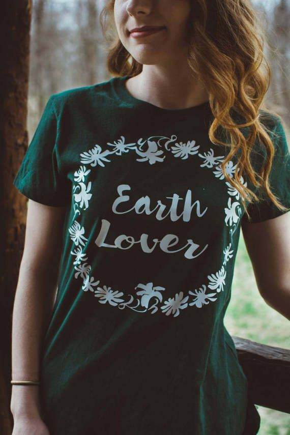 Hey, I found this really awesome Etsy listing at https://www.etsy.com/listing/503117274/earth-lover-t-shirt-fashion-top