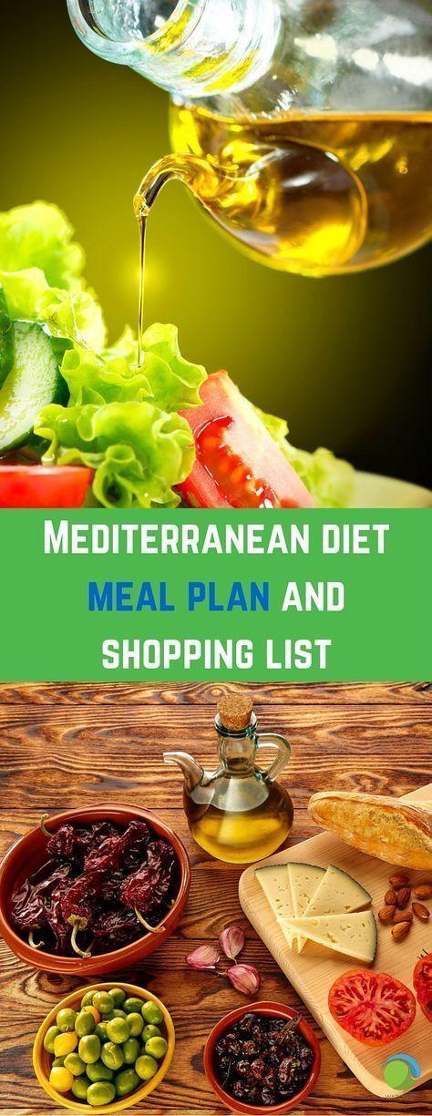 Mediterranean diet shopping list uk