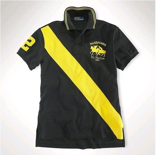 black and yellow polo ralph lauren