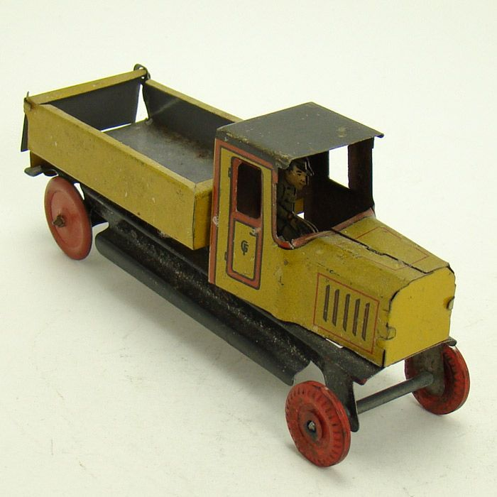 George Fischer German Dump Truck Penny Toy